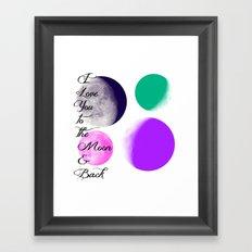 ILY2tM&B Framed Art Print