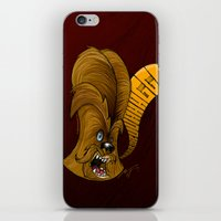 chewbacca iPhone & iPod Skins featuring Chewbacca by alexviveros.net
