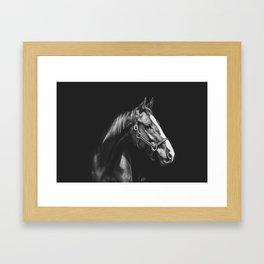 Madame Mistletoe Framed Art Print