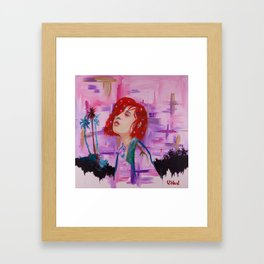 Cali Girl Framed Art Print