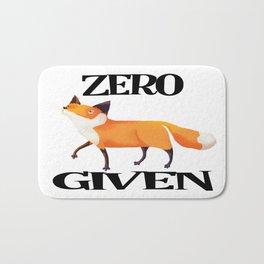 0 Fox Given Bath Mat