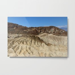 The Badlands Of Death Valley Metal Print
