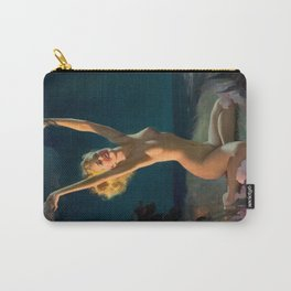 Gay Nymph by Gil Elvgren Pin Up Girl Carry-All Pouch