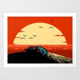 Ibiza Sunset Chillout Art Print