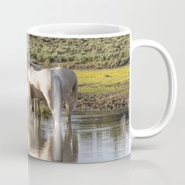 Reflection of a Mustang Family Coffee Mug