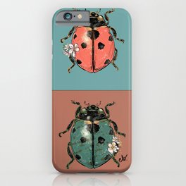 Outfits for bugs_green beetle insect iPhone Case