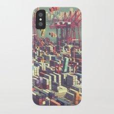 Pier Tetris iPhone X Slim Case