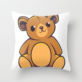 Teddybaer sweet Throw Pillow