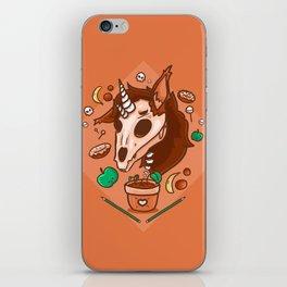 Skull unicorn iPhone Skin