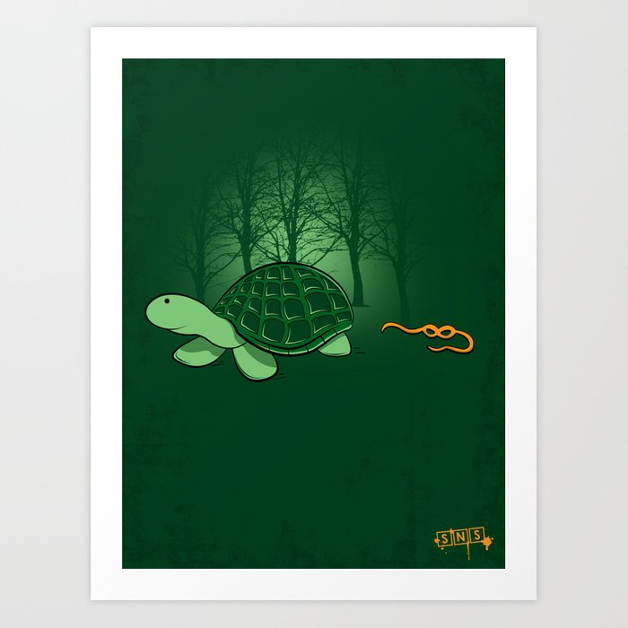 Be Proud of Who You Are - ( TMNT Turtle ) Art Print