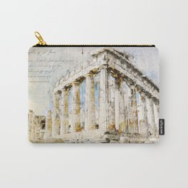 Acropolis, Athens Greece Carry-All Pouch