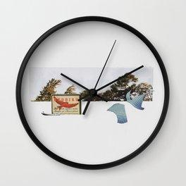 Strike Anywhere Wall Clock