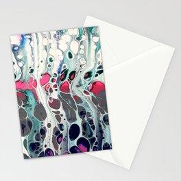 Tadaaaa - an abstract acrylic swipe Stationery Cards