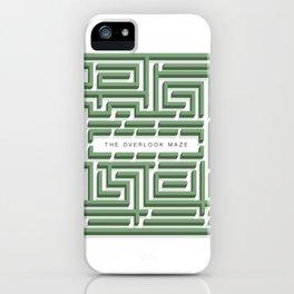 The Overlook Maze iPhone Case