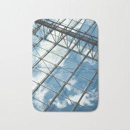 Glass Ceiling VII (Portrait) - Architectural Photography Bath Mat