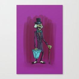 Mr. Doom by Topher Adam 2017 Canvas Print