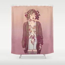 Gorgo Lady Shower Curtain