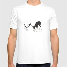 Deer love a Cuppa! Deer products, woodland illustration, animal lovers, deer gifts, T-shirt
