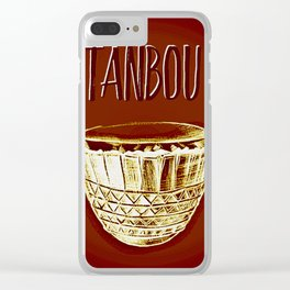 Tanbou Clear iPhone Case