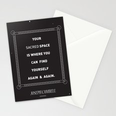 sacred space Stationery Cards