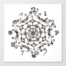 Twirly Time Canvas Print
