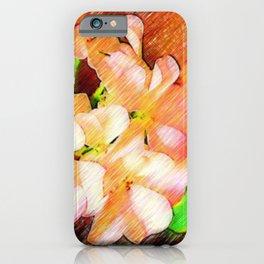 Colored geraniums iPhone Case
