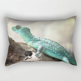 Plumed Basilisk Rectangular Pillow