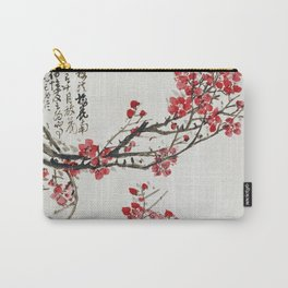 Wu Changshi - Plum Blossoms Carry-All Pouch