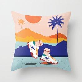 Sneakerhead Throw Pillow