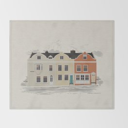 Lombard St. Portsmouth Throw Blanket