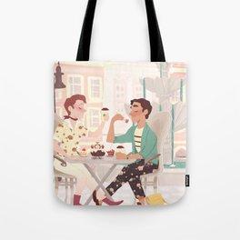 Coffee Date Tote Bag