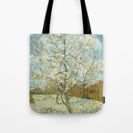 Vincent Van Gogh Peach Tree In Blossom Tote Bag