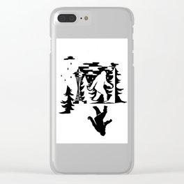 Seattle Sasquatch Clear iPhone Case
