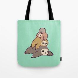 Sloth Stack Tote Bag