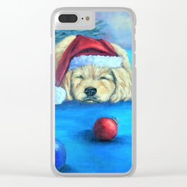 Waiting for Santa Clear iPhone Case