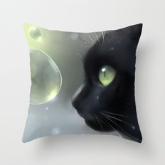 worlds within Throw Pillow