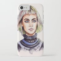 marc jacobs iPhone & iPod Cases featuring Cara/Marc Jacobs 2014 by vooce & kat