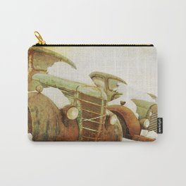 green vintage trucks Carry-All Pouch