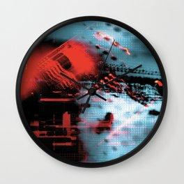 Ex Machina #3 Wall Clock
