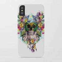 skulls iPhone & iPod Cases featuring SKULLS by RIZA PEKER