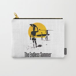 Endless Surf Summer Vintage Poster Carry-All Pouch