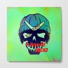 "BOOMERANG ""Suicide Squad"" Metal Print"
