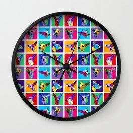 Maggie Warholed Wall Clock