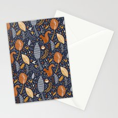 Vive l'automne !  Stationery Cards