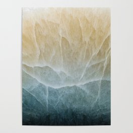 Abstract mineral texture Poster