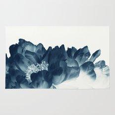 Blue Paeonia #1 Rug