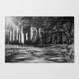 Misty is Dreaming Canvas Print