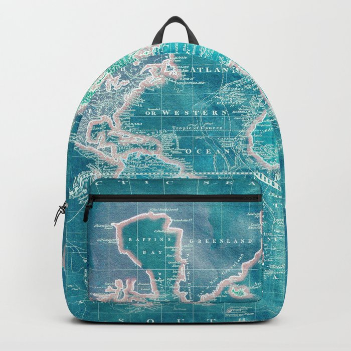 The World - Sans Type Backpack