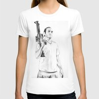 grand theft auto T-shirts featuring Grand Theft Auto 5 by Chris Samba