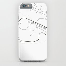 Lime Rock Park iPhone Case
